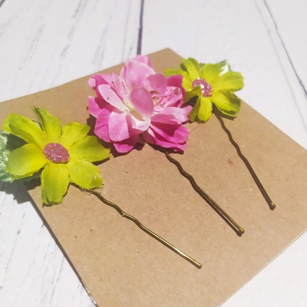 Flower Hair Clips