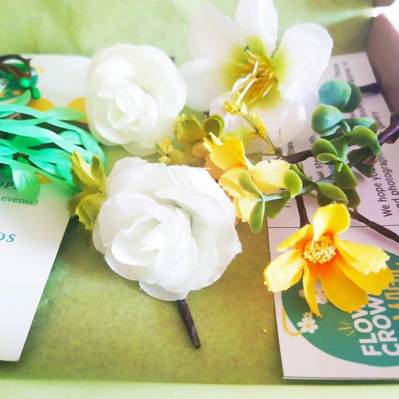 flower crown making kit