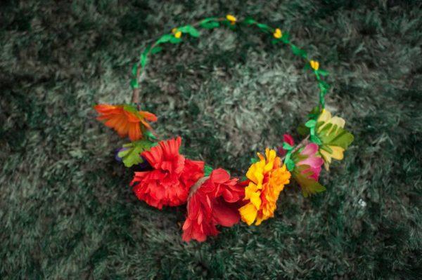 Frida Kahlo DIY Flower Crown Kit