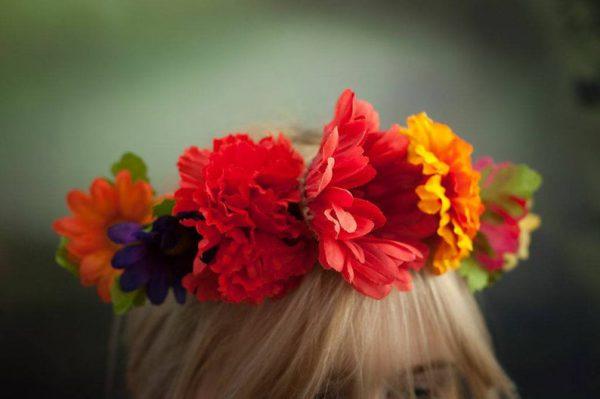 Frida Kahlo Style DIY Flower Crown Kits