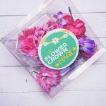 Purple Mummy and Me Duo DIY Flower Crown Kit