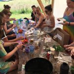 Outdoor Hen Party - Flower Crown Making