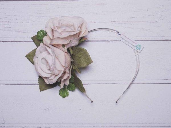rose-flower-wedding-headband
