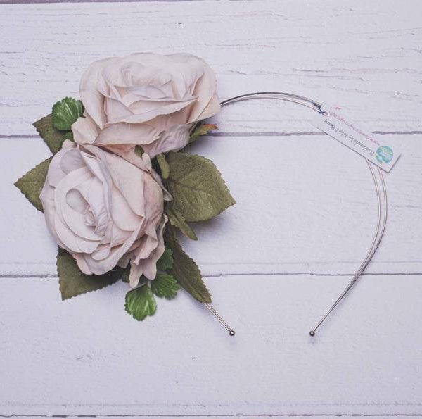 rose-flower-wedding-headband