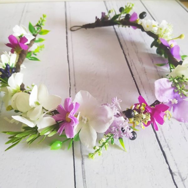 boho flower crown making kit