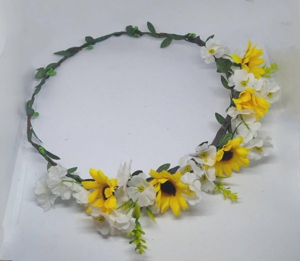 Sunflower Flower Crown