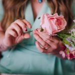 beautiful flowers in your diy flower crown making kit